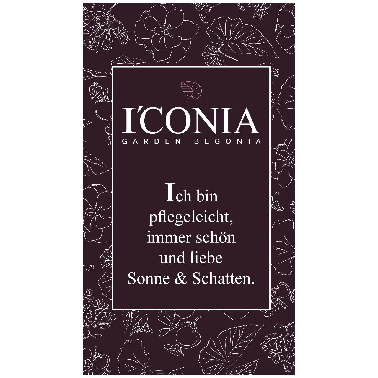 CC-Lagenstopper I´CONIA GER with Wrap  45x27 cm