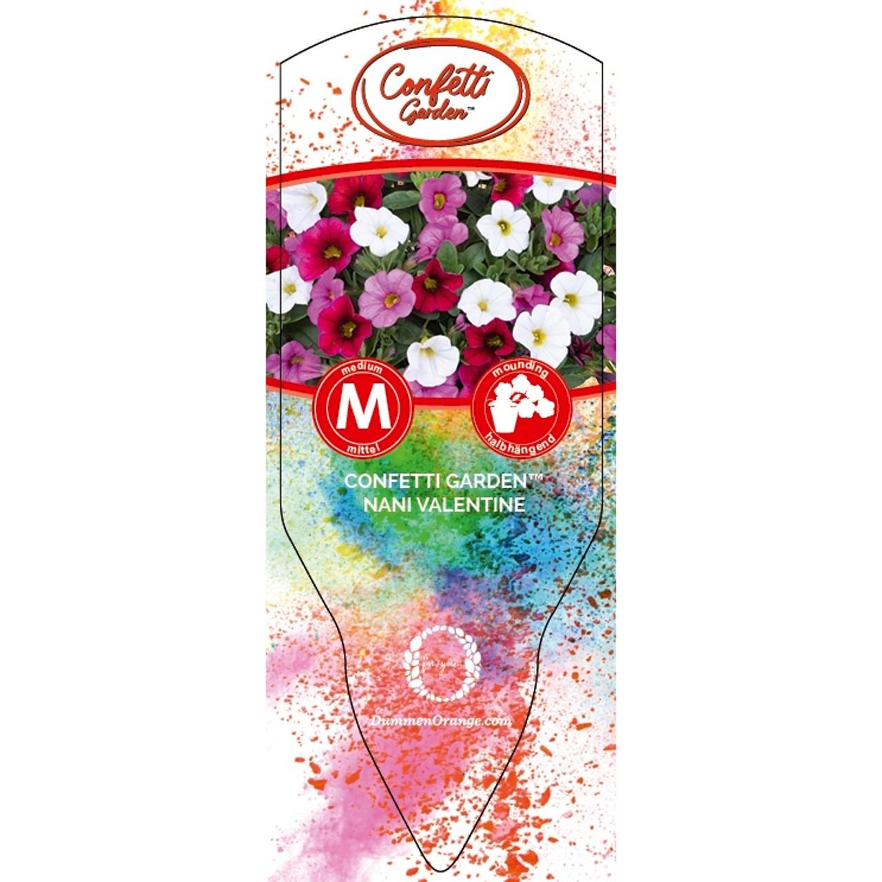 Tag Confetti Garden Nani Valentine