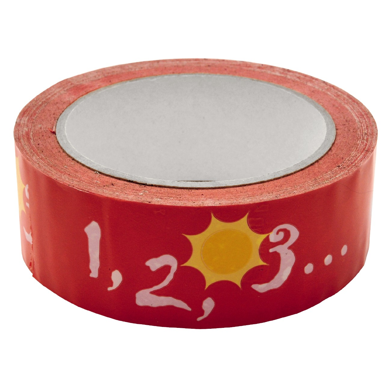 Tape 1,2,3 red